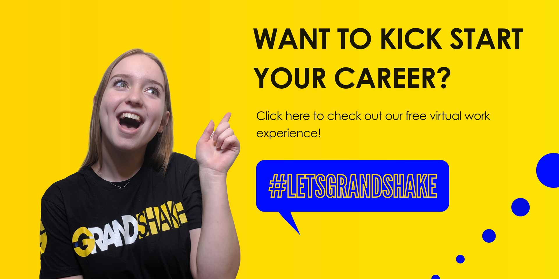 Virtual work experience with Grandshake including Systems and Signals Operator