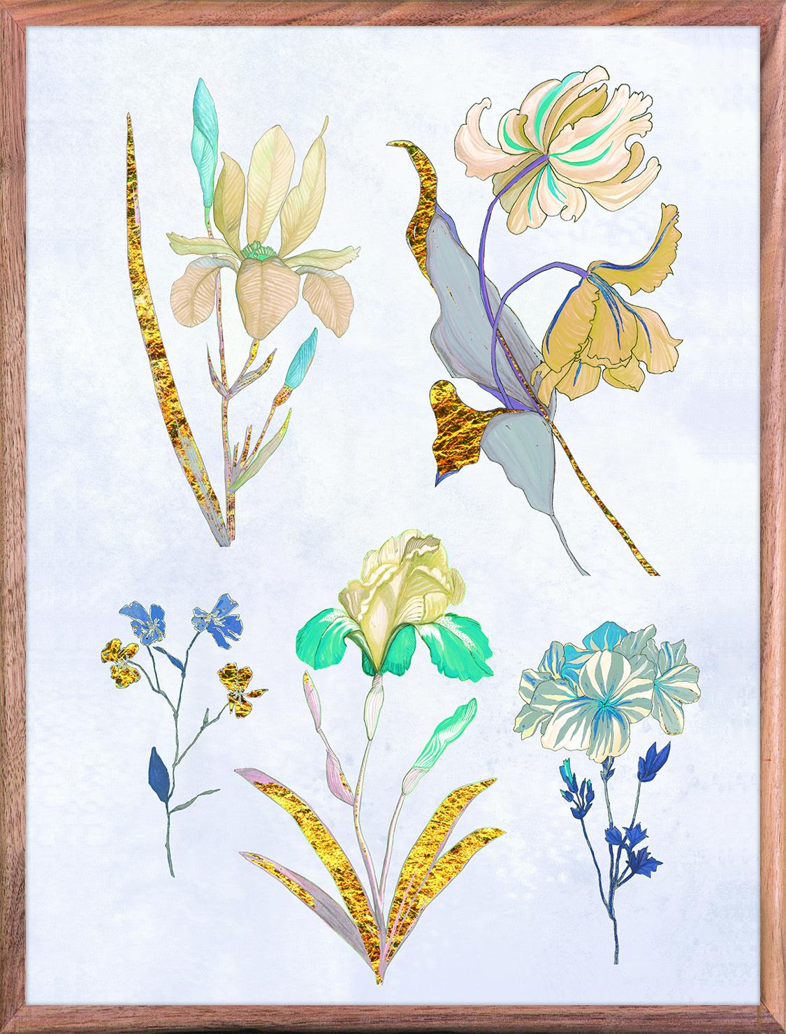 Ars Florae 1 Light Blue