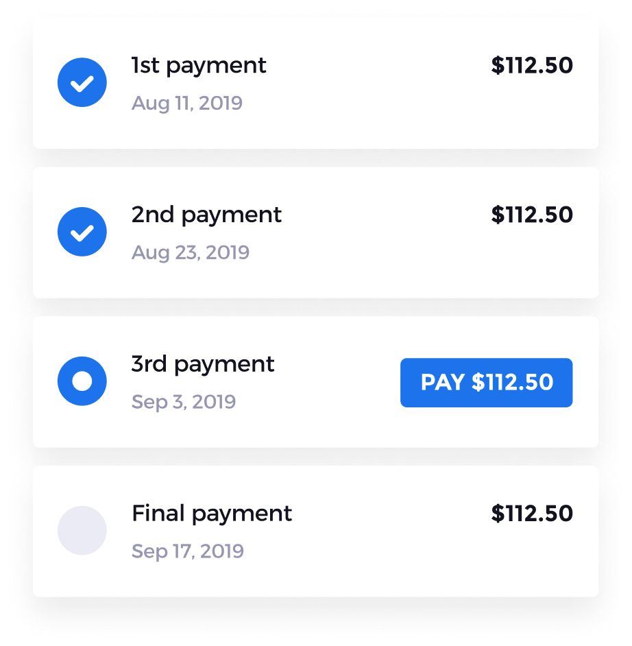 Illustration of payment integration and patient financing