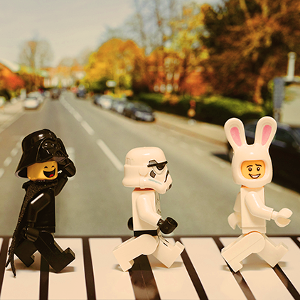 Star Wars x Beatles x Abbey Rd