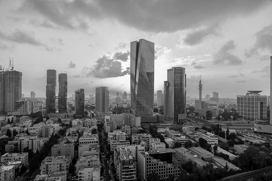 Skyline of the leading tech ecosystem and Startup Nation city, Tel Aviv