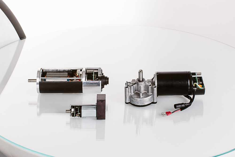DC-Motoren und Getriebemotoren