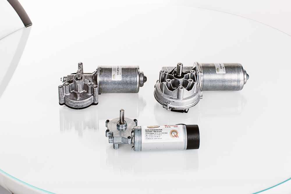 DC-Schneckengetriebemotoren