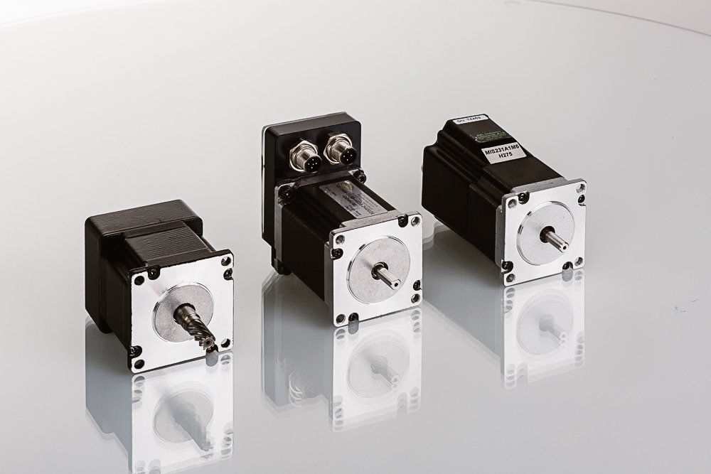 Schrittmotoren mit integrierter Elektronik