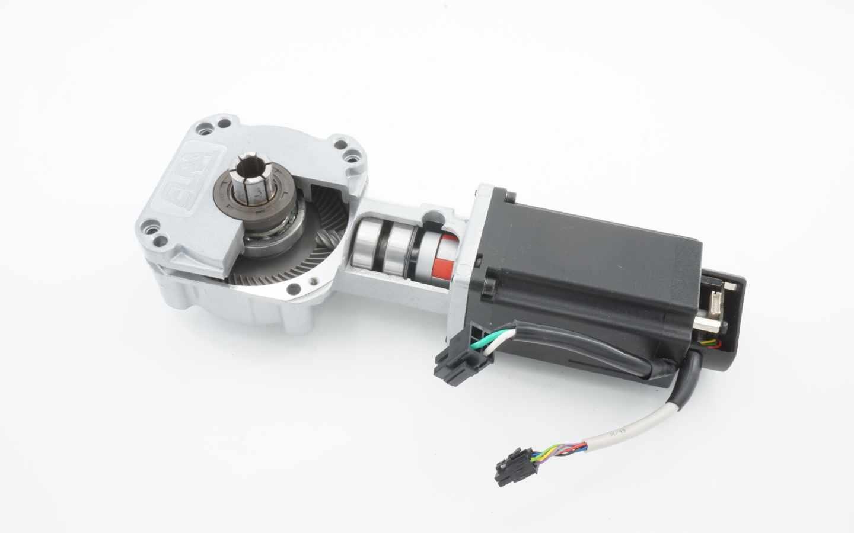 Bürstenloser Kegelradgetriebemotor