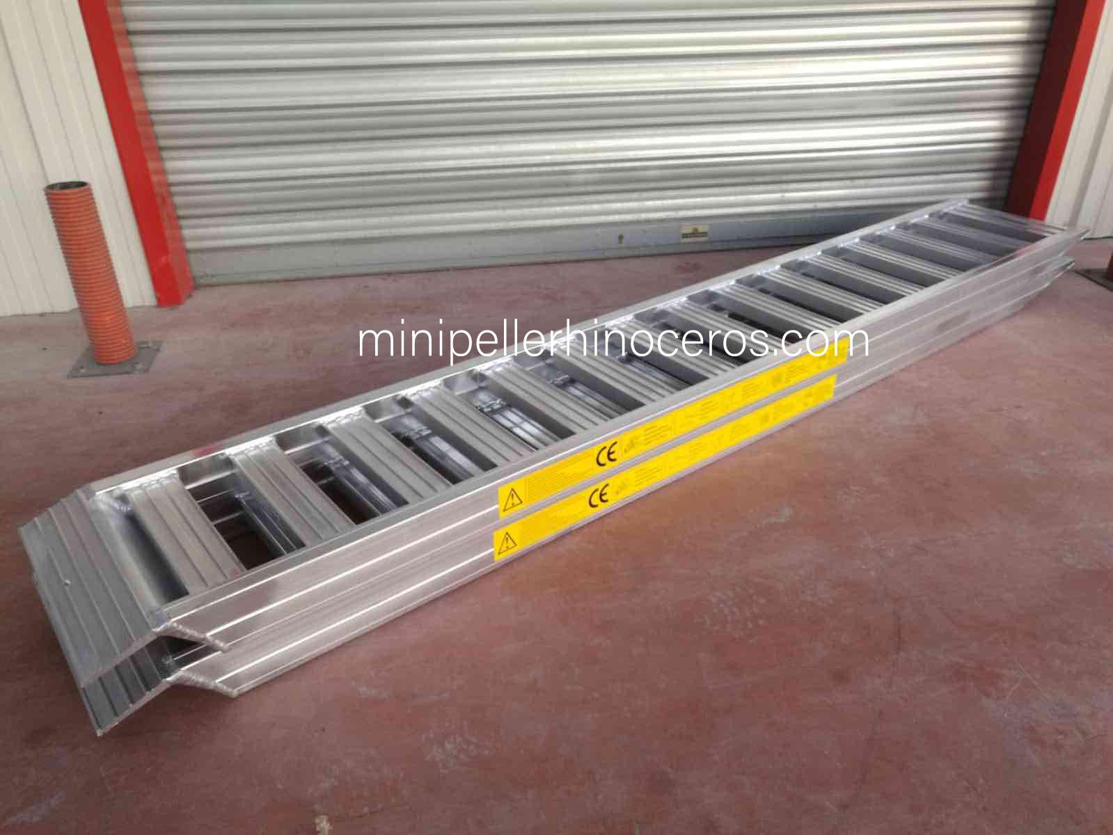 Rampa de aluminio de alta resistencia