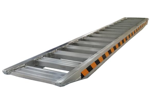 Rampa abierta de aluminio