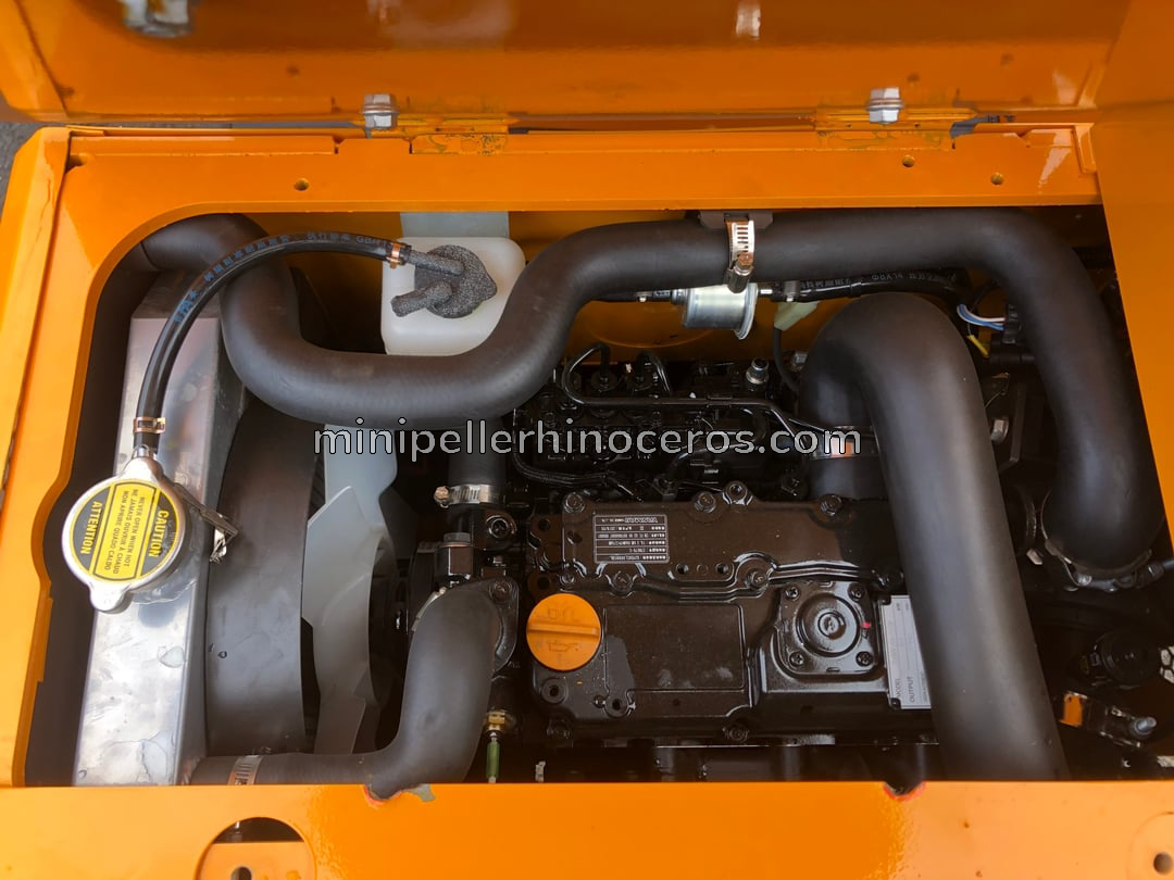 Yanmar 3TNV-70 3-Zylinder-Motor des Minibaggers XN12