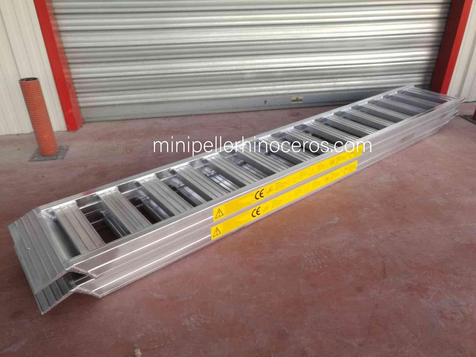 Rampa per impieghi gravosi in alluminio