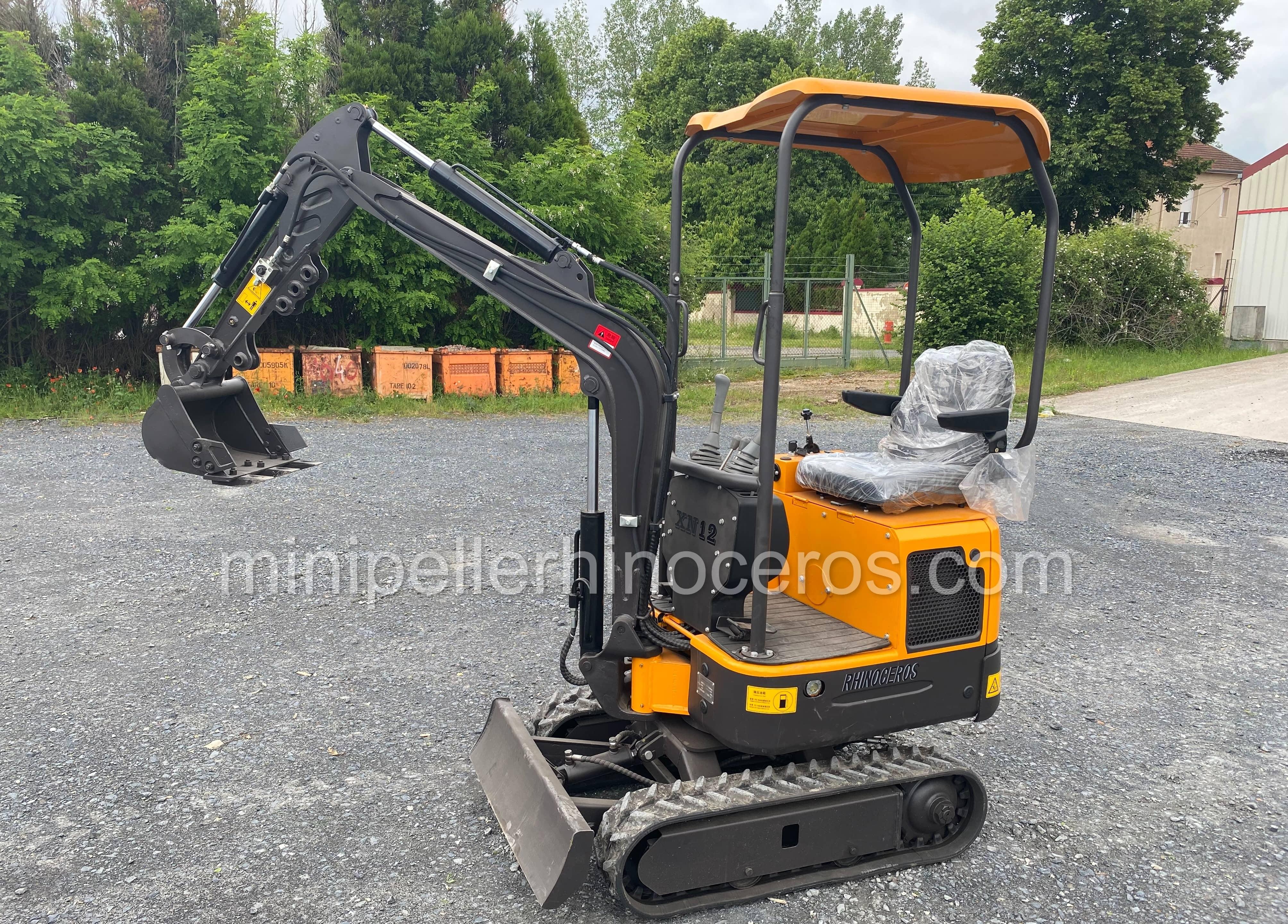 Mini Pelle XN-12, 1 000 kg