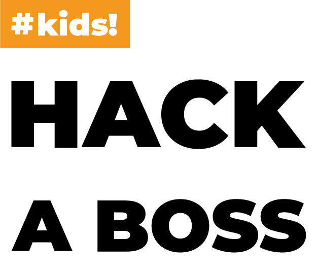 Logotipo HACK A BOSS KIDS