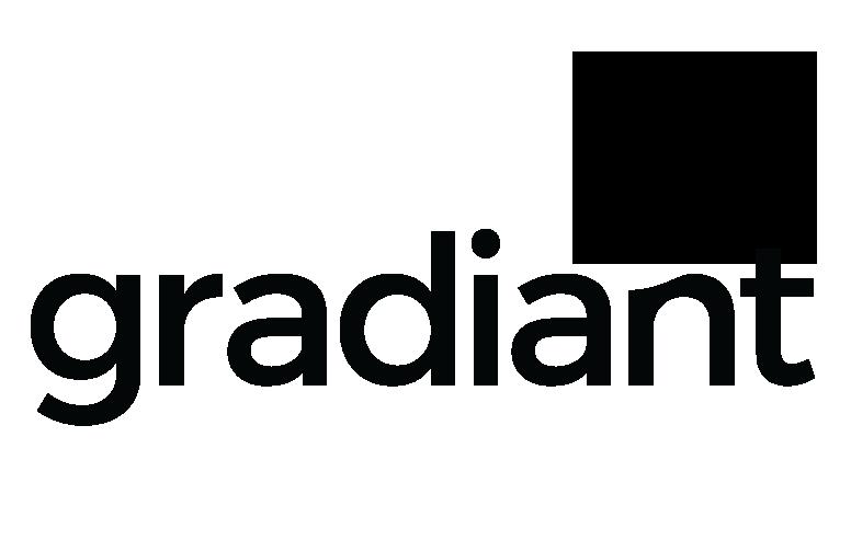 Logotipo de la compañía Gradiant.