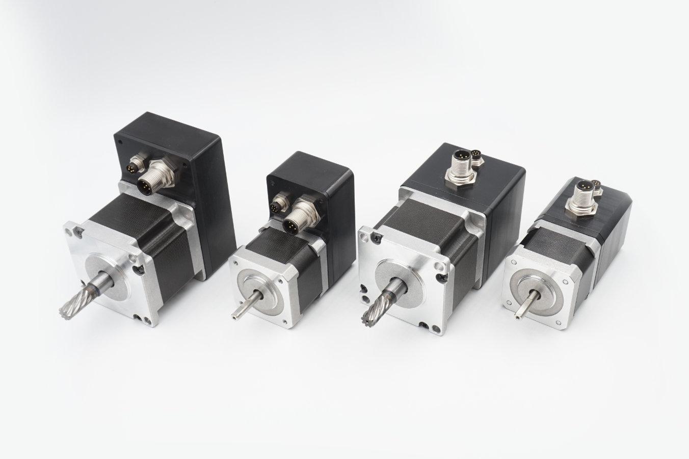 Robuste Schrittmotoren in industrieller Ausführung