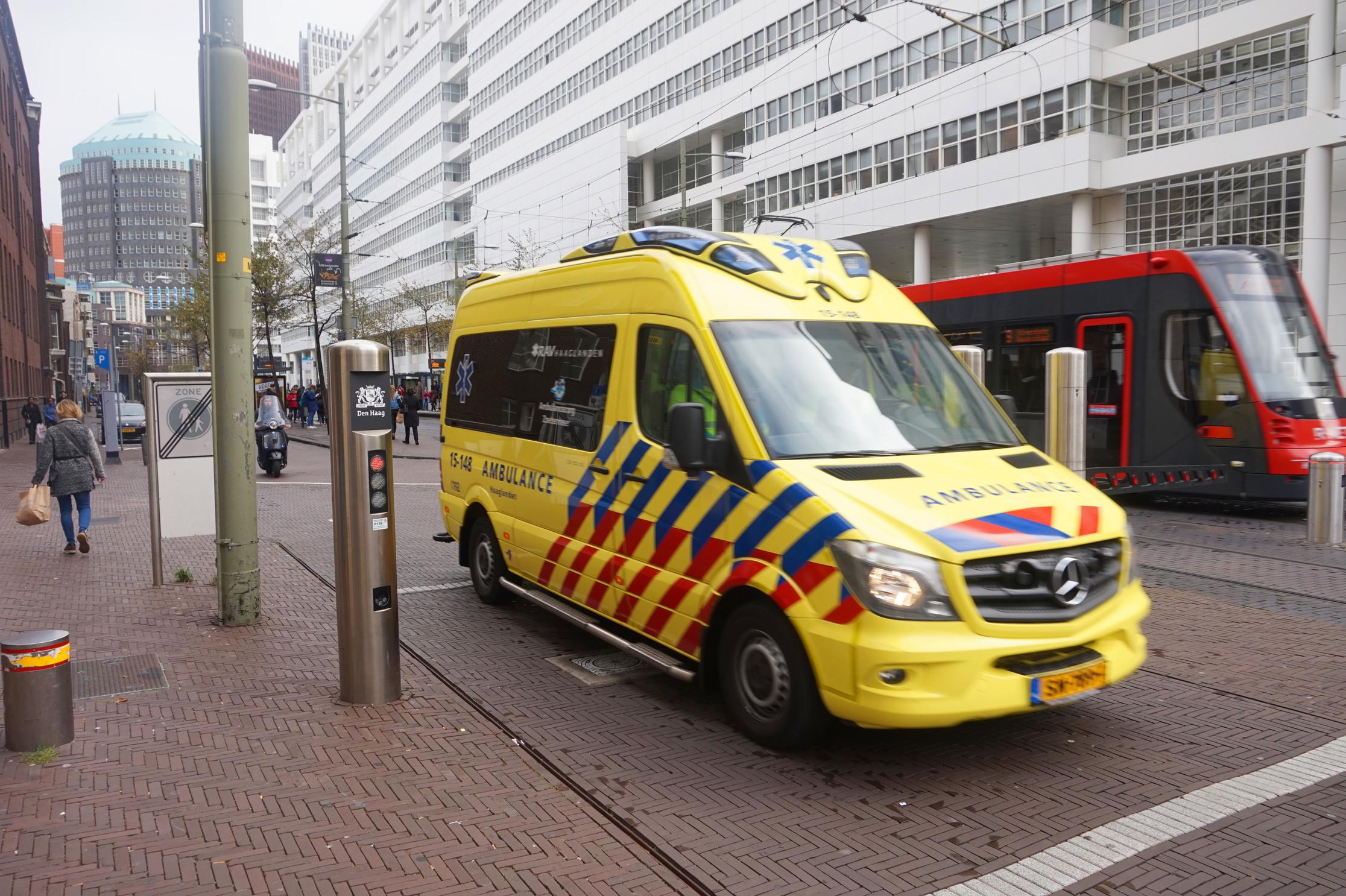 Automatische toegang voor nood en hulpdiensten in het centrum van Den Haag