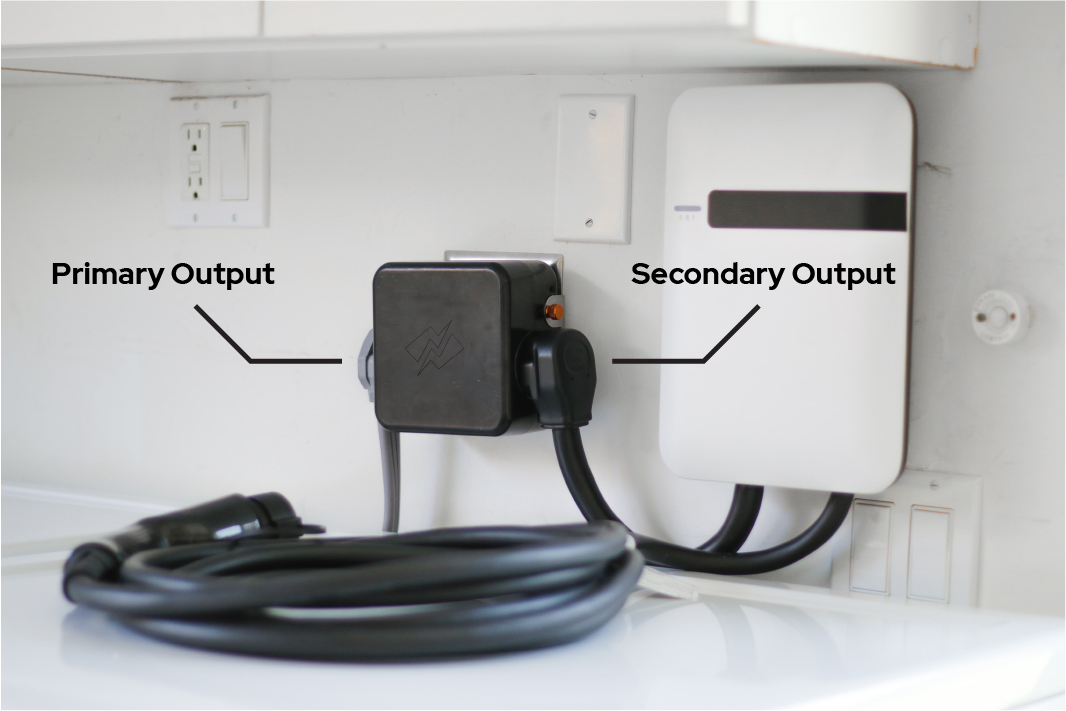 Smart Splitter with a car charger