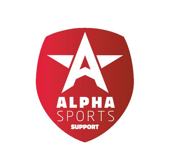 Alpha Sports Support Logo