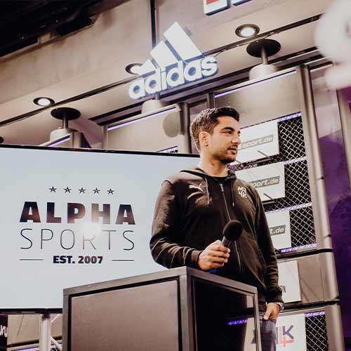 Sami Allagui Alpha Sports Spenden MJ$K Arche