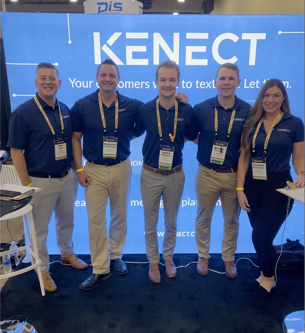 Kenect team at Kubota Connect