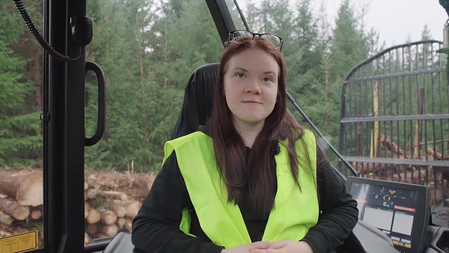 Metsäkoneenkuljettaja