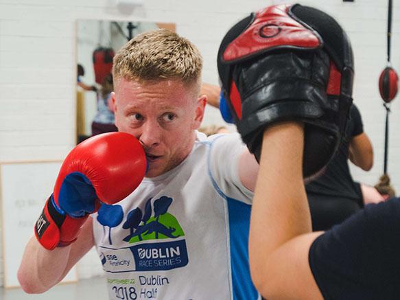 Image of man boxing