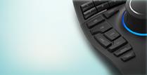 3D Mus på ett skrivbord
