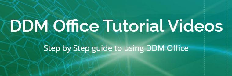 Nytt utbildningsmaterial för DDM Online