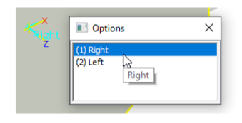 right and left ironcad