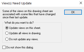 views need update ironcad