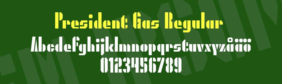 President gas