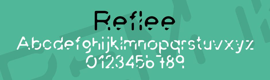reflee font