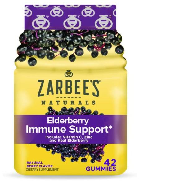 Zarbee's Elderberry gummies