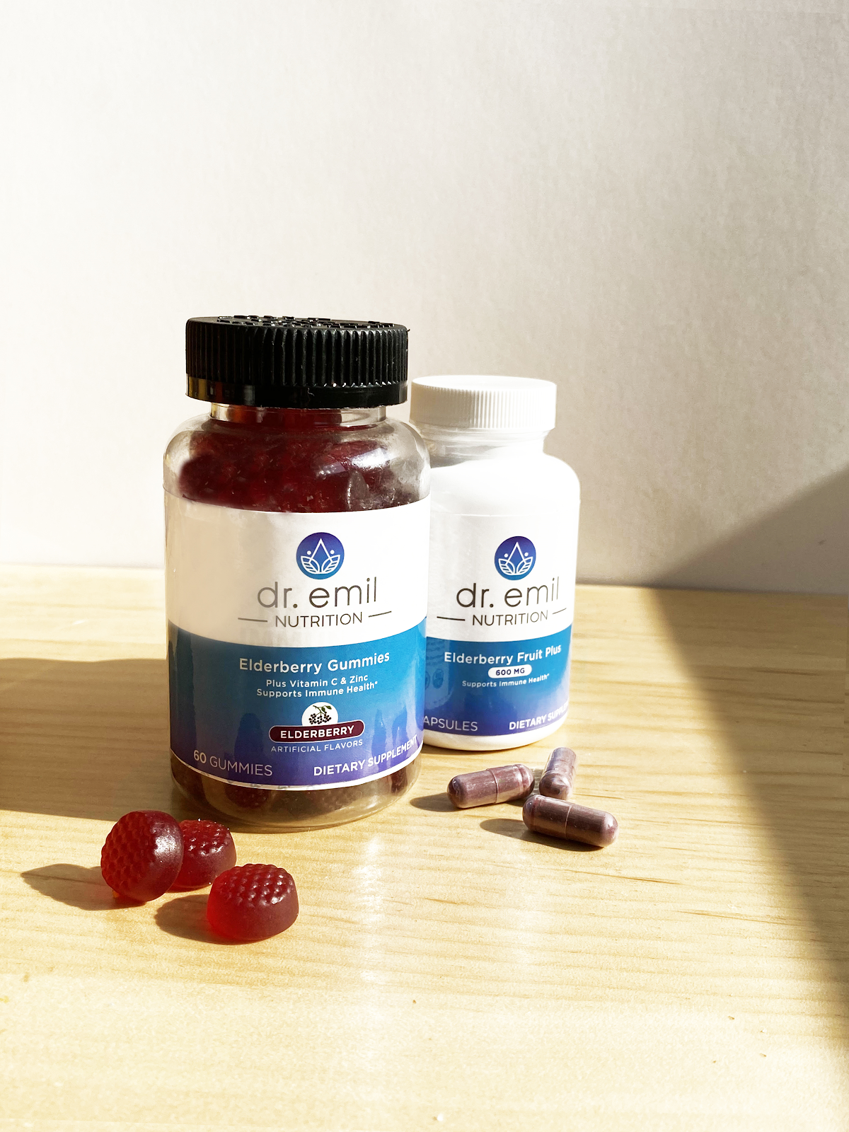 Dr. Emil Nutrition's Elderberry gummies