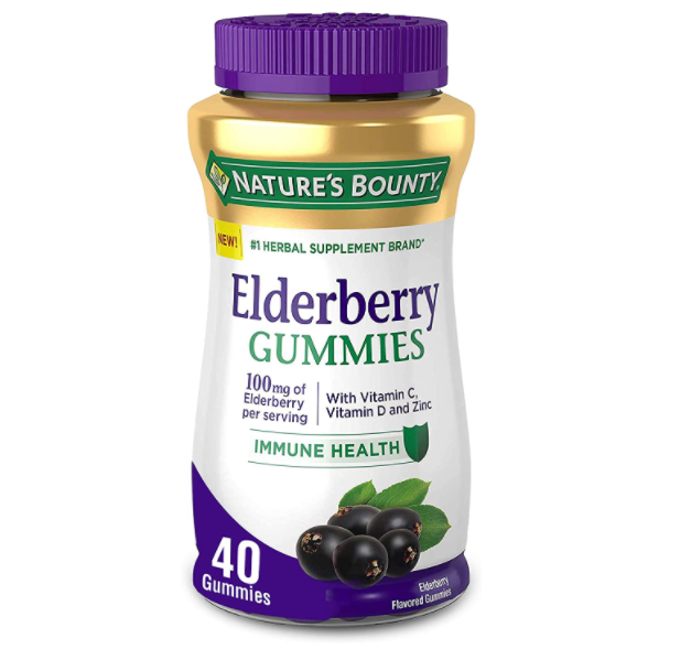 Nature's Bounty Elderberry gummies