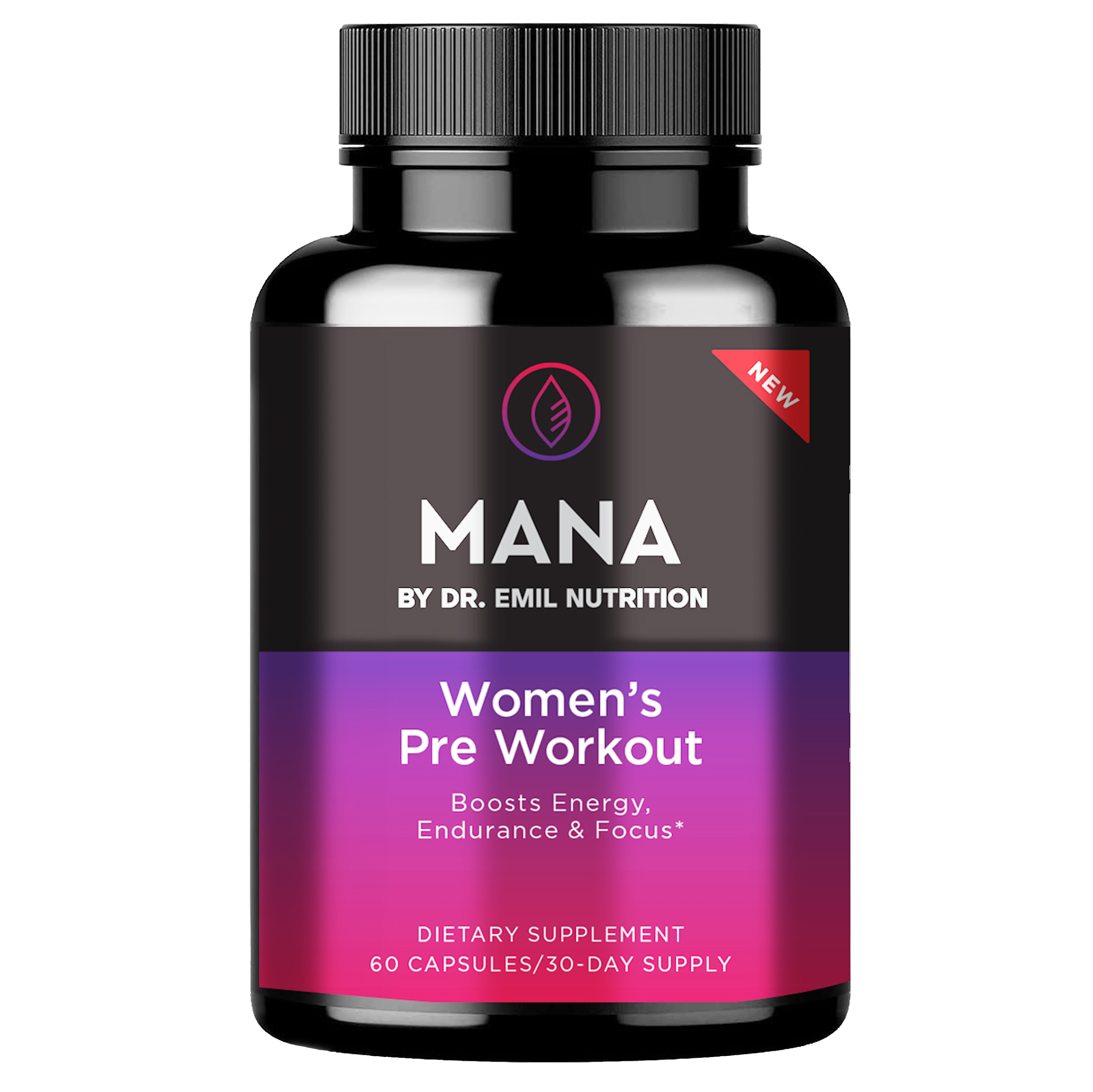 Dr. Emil's Women's Pre-Workout Capsule.