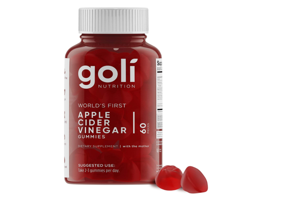 Goli apple cider vinegar gummy