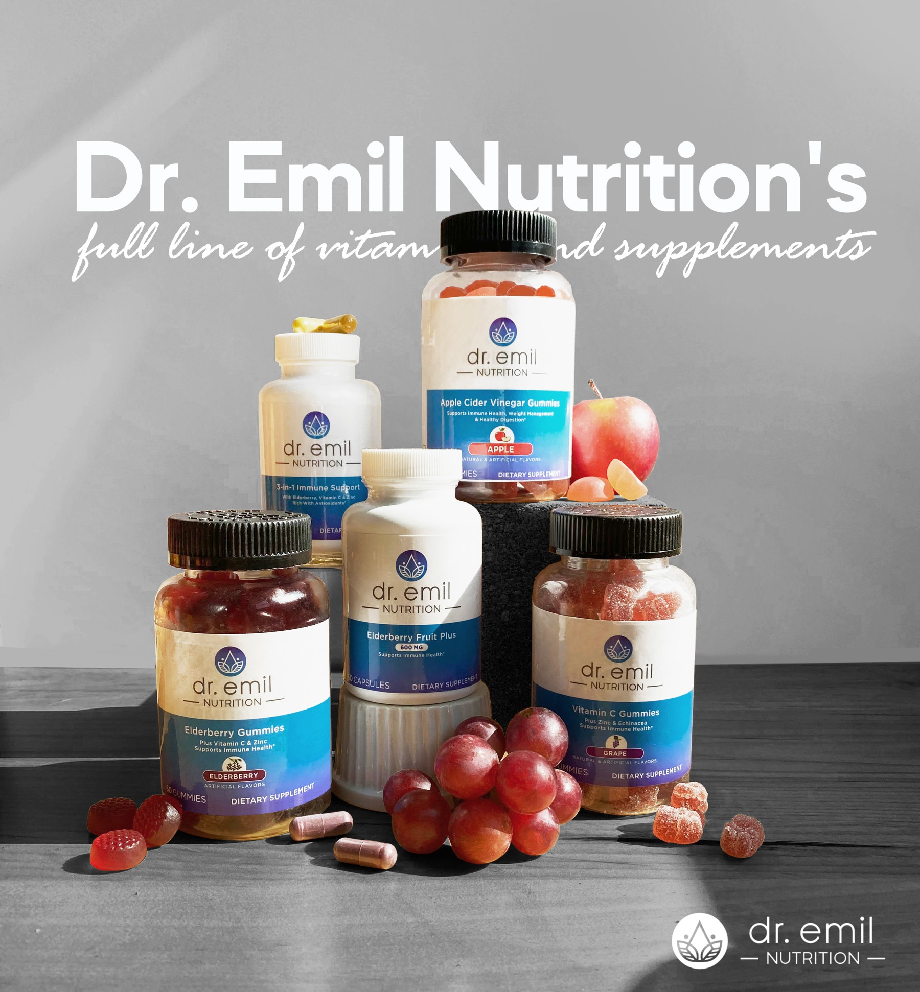 Dr. Emil Nutrition Immunity products