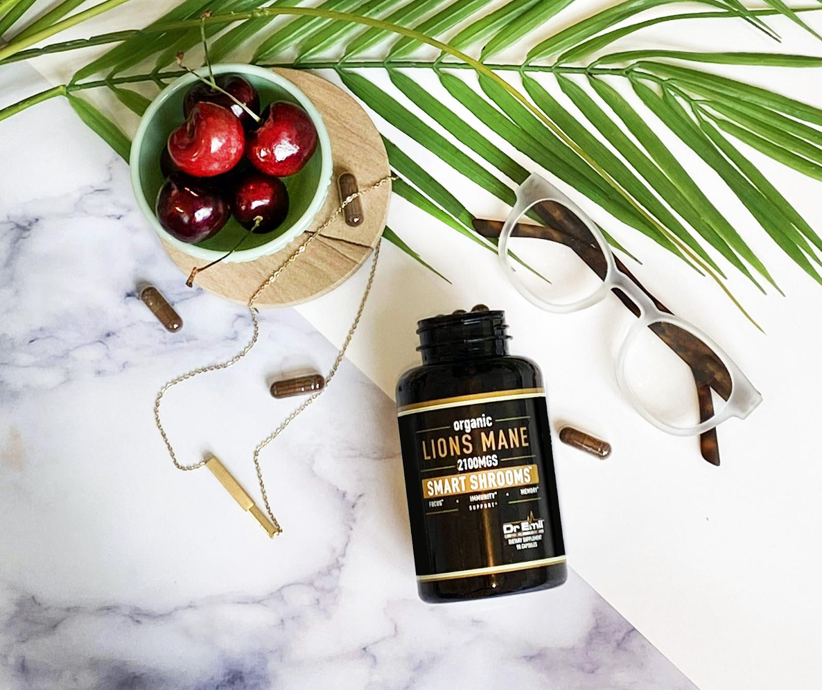 Dr. Emil Nutrition's lion's mane supplement