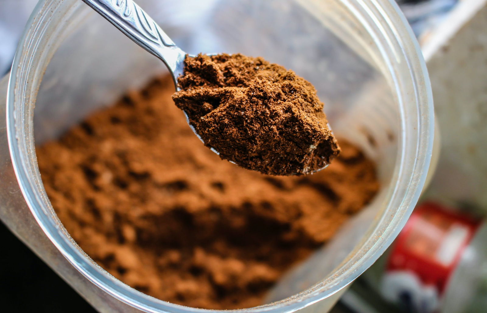 An image of whey protein as a post workout supplement.