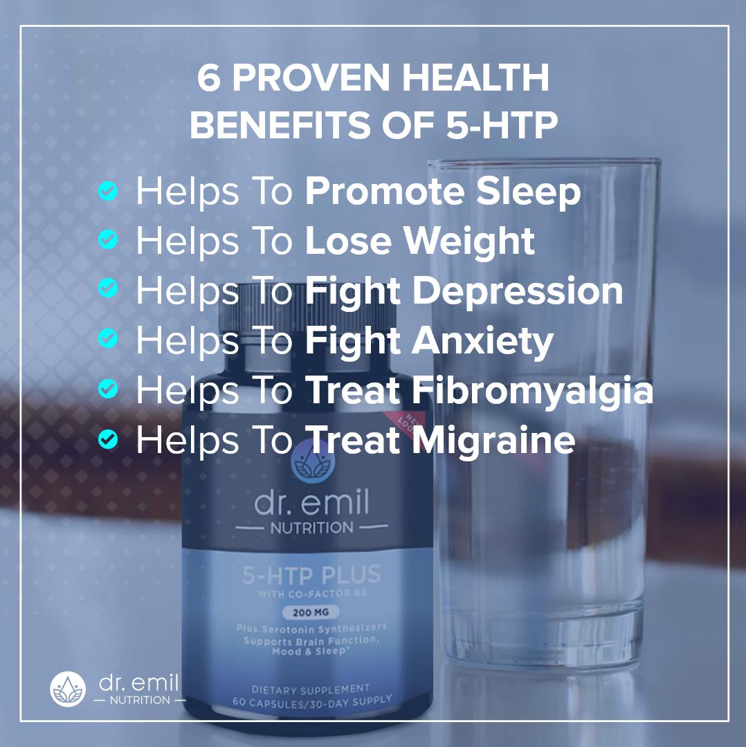 6 proven health benefits of 5-HTP