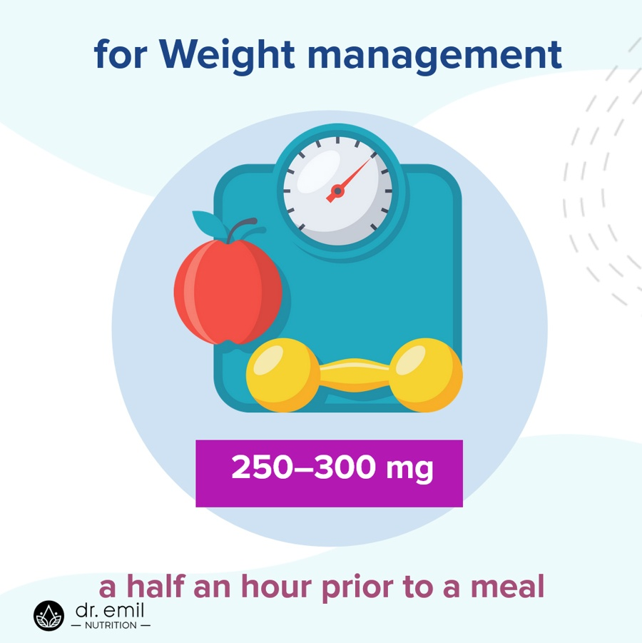 5-HTP Dosage for Weight management