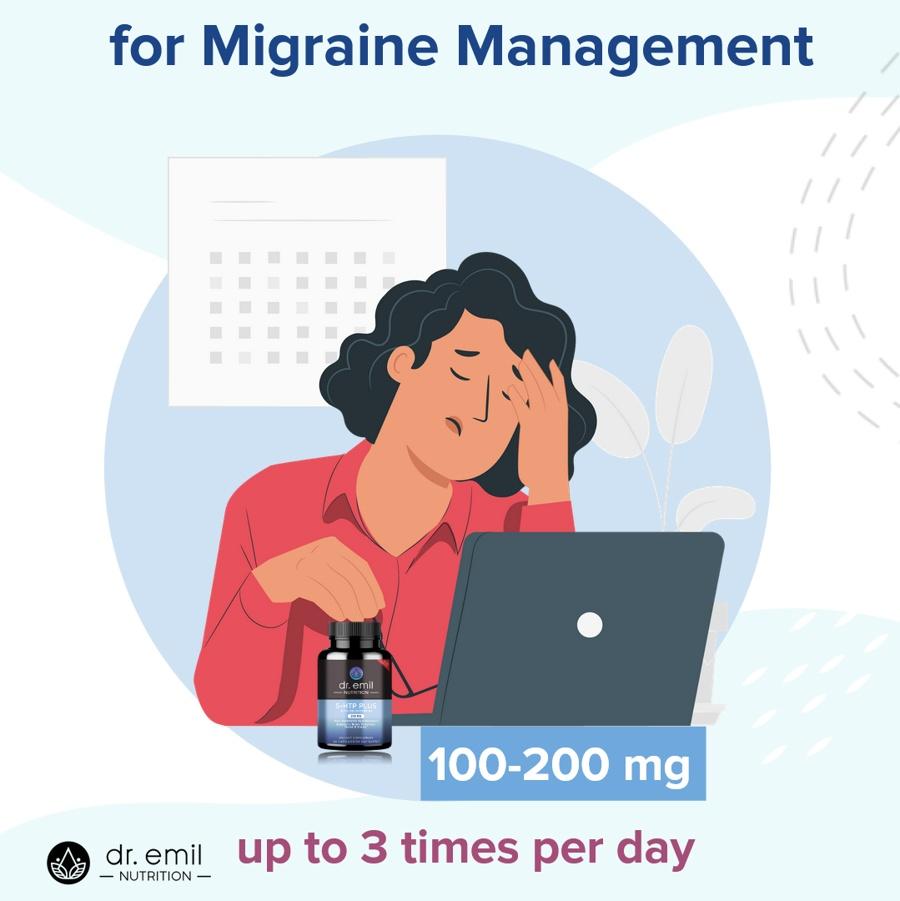 5-HTP Dosage for Migraine Management