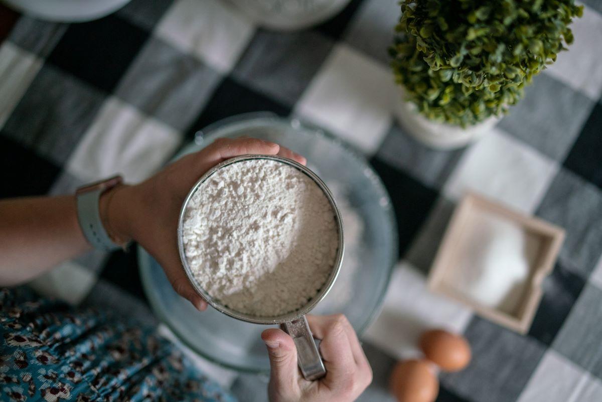 A Big Cup of L-Arginine Powder
