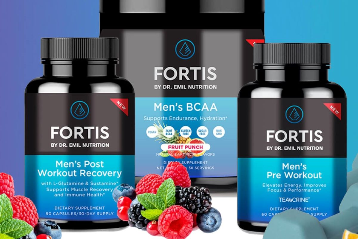 Dr. Emil Nutrition's Line of Fortis Products