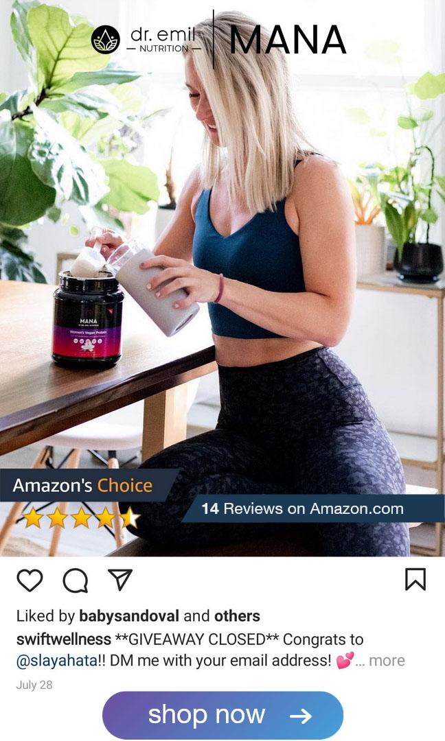 dr emil nutrition Mana