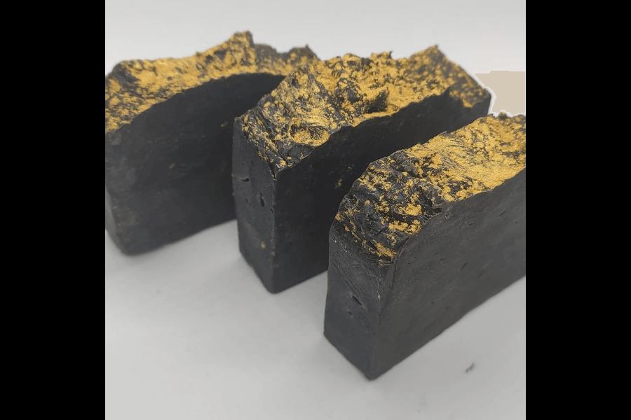 Melnās šokolādes ziepes |Zabi Crafts