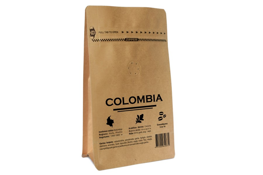 Colombia Pitalito Macao kafija 200g   KAFIJAS PUPIŅA SIA