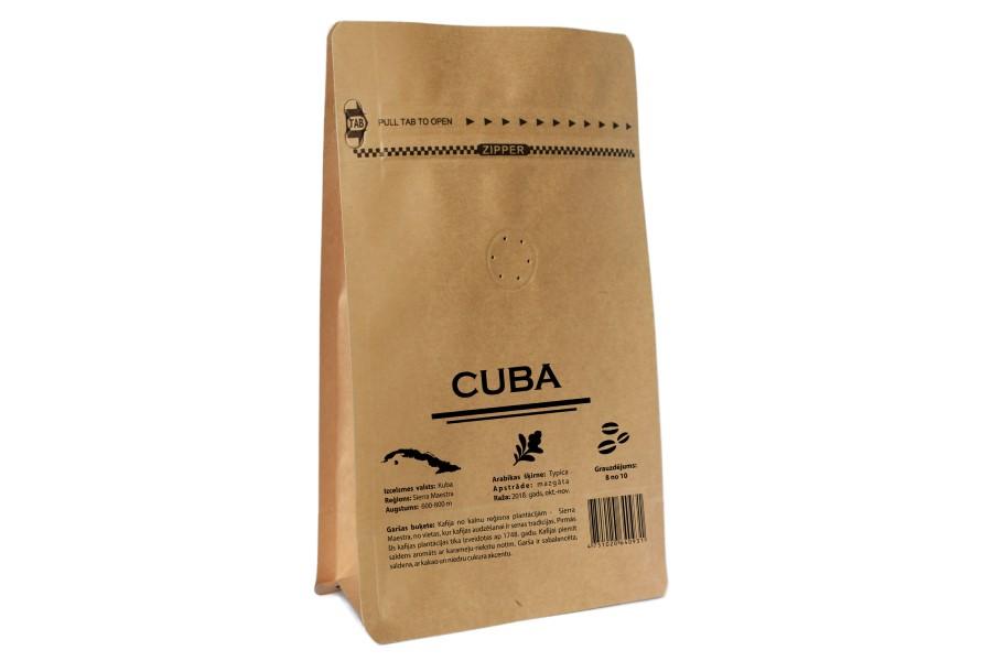 Cuba Serrano Lavado kafija 200g  KAFIJAS PUPIŅA SIA
