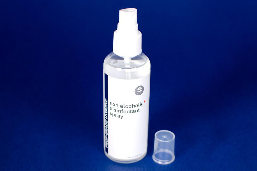 Alkoholu nesaturošs izsmidzināms dezinficējošs līdzeklis rokām (Non alcoholic disinfectant spray) | GMT BEAUTY
