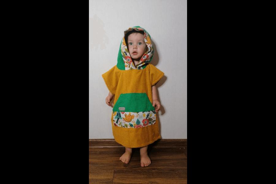 Frotē halāti bērniem | Pašas taisīts