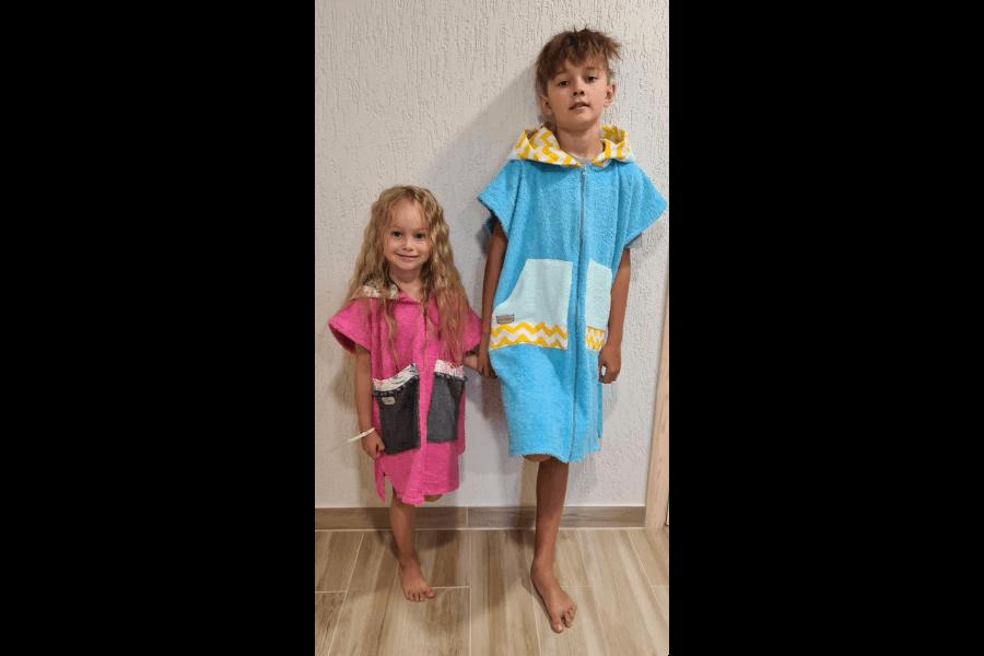 Frotē halāti bērniem